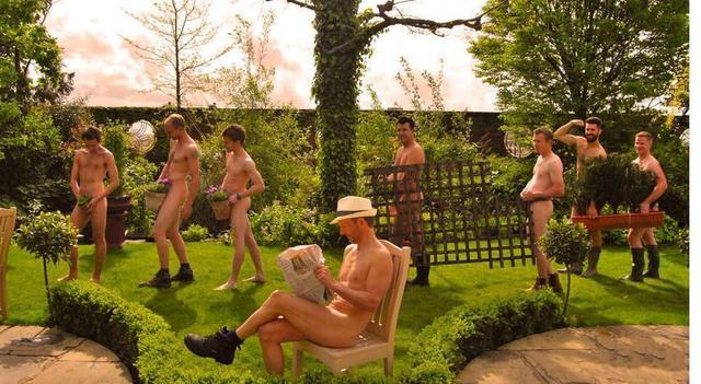 """""""裸体""""园艺日,亮瞎你的双眼!"""