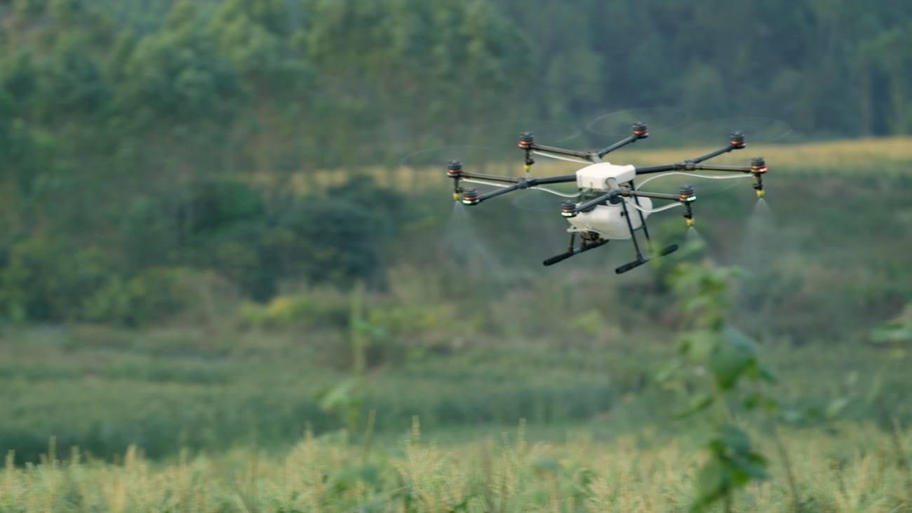 大疆也要做喷农药的无人机了?
